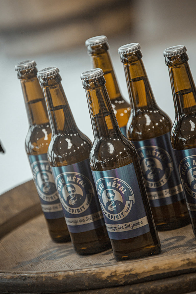 Bière Bleu Métal Spirit