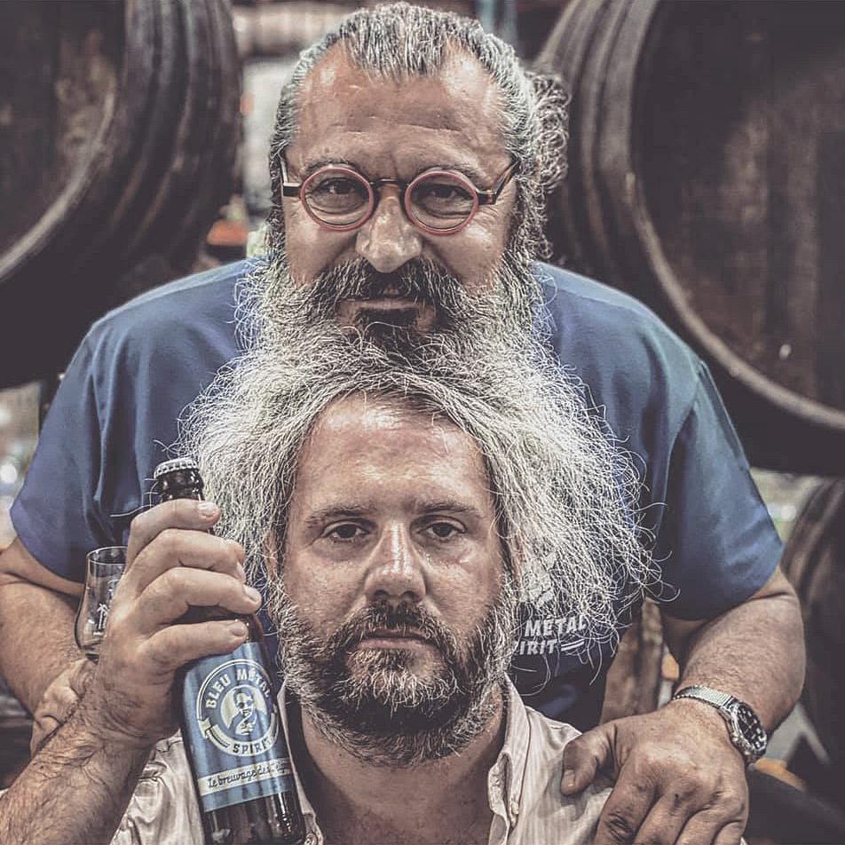 Chicandier et Bruno Mangin